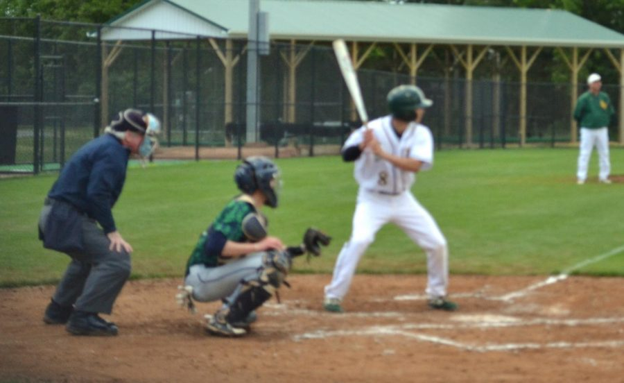 #8 Riley Ashby has stepped up to the plate to hit a home run
