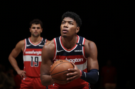 Rui Hachimura looks to improve on his solid rookie season while also keeping eyes set on the playoffs. Photo provided by Washington Wizards.