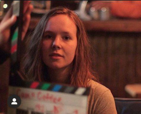 Loudoun Valley and MATA alumna Maddy Wade participates in a  MATA film class