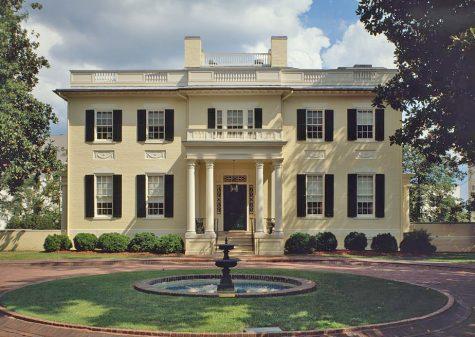 The Virginia Executive Mansion in Richmond, VA.