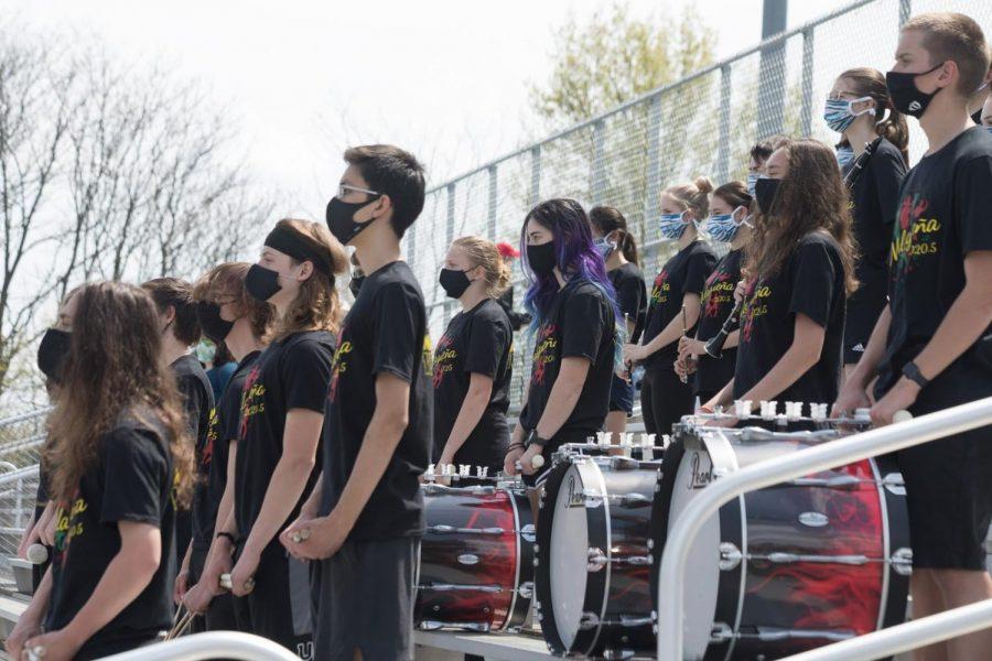 Marching through High School