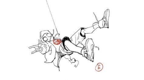 """""""Spider-man: Into the Spider-verse"""" concept art"""
