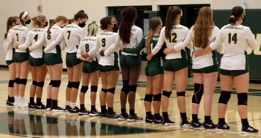 September 2nd, 2021: Loudoun Valley Varsity Volleyball vs. Handley